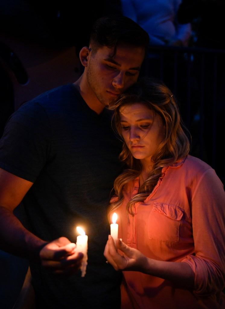 APTOPIX Synagogue Shooting-California